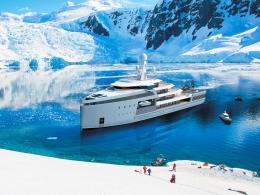 Яхта-ледокол SeaXplorer – от Арктики до Антарктики на суперяхте