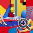Рекламная кампания Aïzone - сочетание декорированных плоскостей, объемных элементов и поп-арта