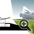 LINK Arkitektur объединила в проекте новой церкви нескольких функциональных помещений под одной крышей