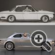 BMW CS Vintage - современная интерпретация легендарных E9 1968 года и CS 1965 года