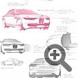 Дизайн - концепция BMW CS Vintage основана на платформе серии 6