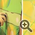 Боинг был расписан в течение недели с помощью 1200 баллончиков краски