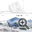 На первом этаже отеля в горах - место для хранения лыж, сушилка, гараж для снегоходов
