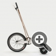 Дизайн велосипеда Halfbike
