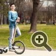 Дизайн велосипеда учитывает анатомическое строение человека