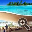 Конструкция здания резиденции Барака Обамы на Гавайях представляется очень легкой благодаря наличие стекла, открытых галерей, прогулочных зон
