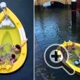 В лодке-джакузи HotTug можно безопасно плавать даже в море