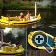 Лодка-джакузи HotTug полностью соответствует требованиям ЕС