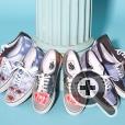 Дизайн обуви с принтами картин Рене Магритта