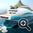 Дизайн плавучего тропического острова Paradise