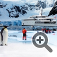 Яхта-ледокол SeaXplorer позволяет с комфортом путешествовать в водах полярных широт