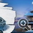 На суперяхте SeaXplorer предусмотрены площадки и отсеки для различного технического оборудования: вертолета, водных мотоциклов, кабин для погружения, спасательных шлюпок, надувных лодок