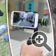 3D стабилизатор Thanko позволяет получить качественное изображение компенсируя дрожание при перемещении со смартфоном