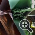 Графические рисунки из трещин и цвета эпоксидной смолы арт-объектов мебели неповторимы