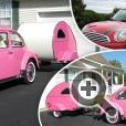 Дома на колесах, теардроп кемперы, были популярны примерно до 1960-х годов