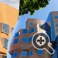 Причудливая форма здания Технологического университета Сиднея архитектора Фрэнка Гери