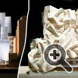 """""""Красивый раздавленный коричневый бумажный мешок"""" - здание имени доктора Чау Чака Винга Сиднейского технологического университета"""