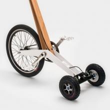 Интеллектуальный велосипед Halfbike